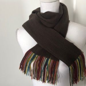 Vintage Wool Scarf - SUPER SOFT